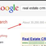 real estate crm in google