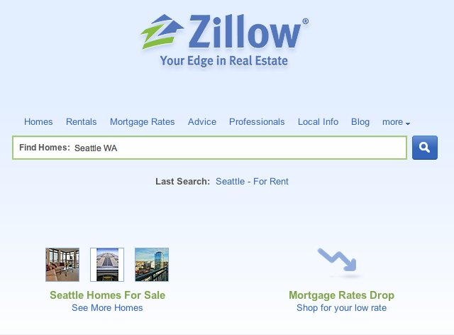 Trulia Vs Zillow Home Page Design Differences