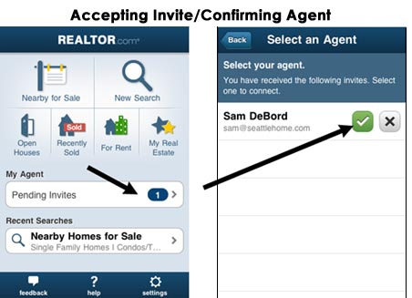 Realtor agent real estate app