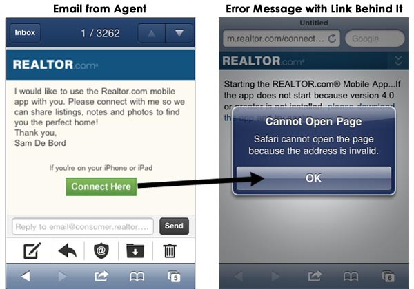 realtor.com app real estate